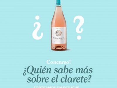 sorteo clarete bodega san cebrín San Asensio La Rioja